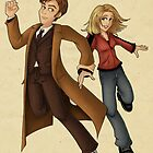 Run With Me (Doctor Who) by eclecticmuse