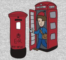 Dr. Who- London by stevebluey