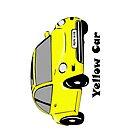 Yellow Car by liascloset