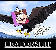 Mabel's Leadership Poster by msevilgenius
