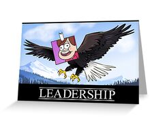Mabel's Leadership Poster Greeting Card