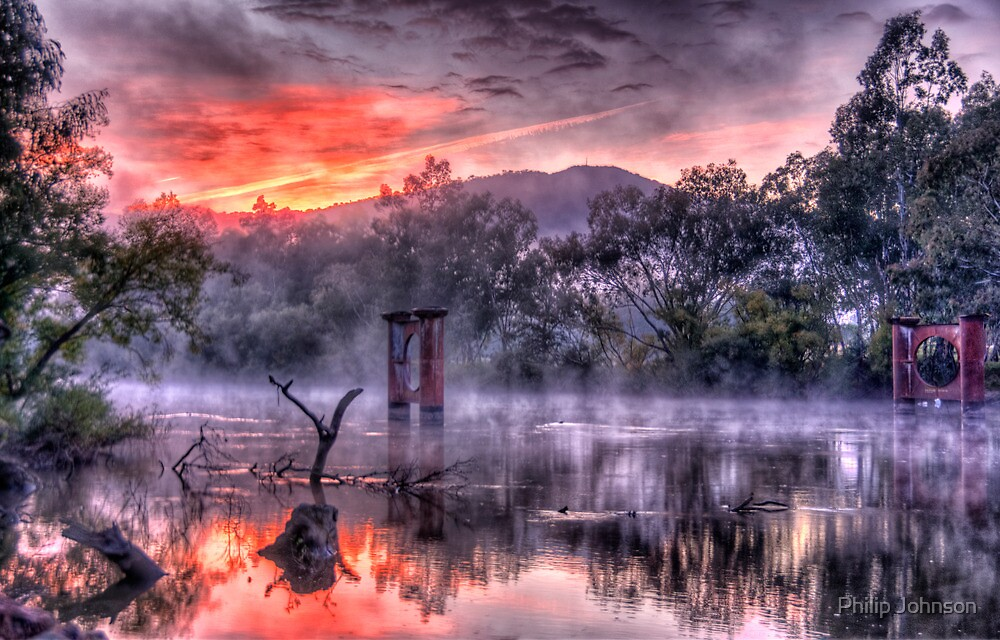 Mist & Light - Jingelic NSW/Walwa Victoria - The HDR Experience by Philip Johnson