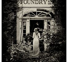 Naomi at the Foundry by ravenmacabre