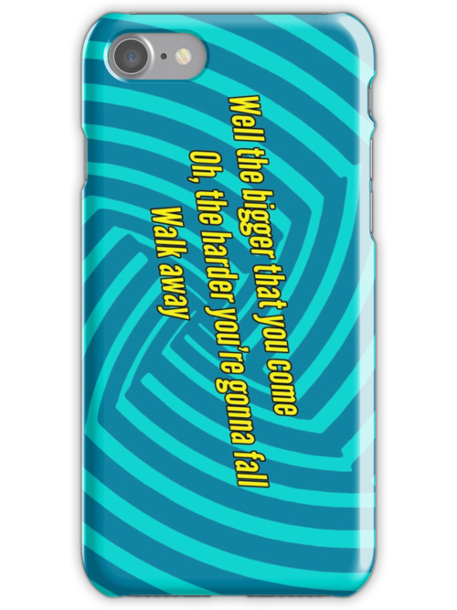 Walk Away - Green Day iPod / iPhone Case by Dsavage94