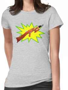 Atomic Rifle Womens Fitted T-Shirt