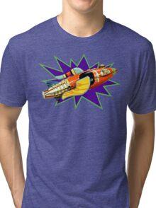 Buck Rogers Ship Tri-blend T-Shirt