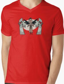 Angels Mens V-Neck T-Shirt