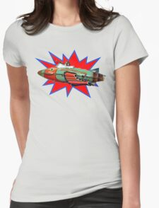 Rocket Police Womens Fitted T-Shirt