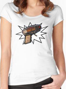 Atomic Space Gun Women's Fitted Scoop T-Shirt