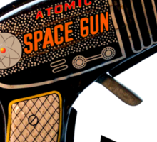 Atomic Space Gun Sticker