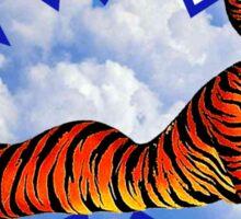 Lady Tiger Sticker
