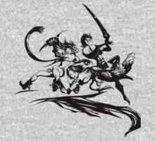 Final Fantasy X-2 (black logo) by surface77