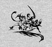 Final Fantasy X-2 (black logo) Unisex T-Shirt