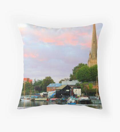 Bristol Harbor Throw Pillow