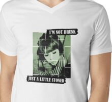 I'm Not Drunk Mens V-Neck T-Shirt