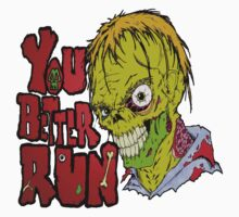 Better Run from Zombies by Skree
