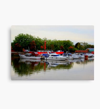 Bristol Harbor Canvas Print