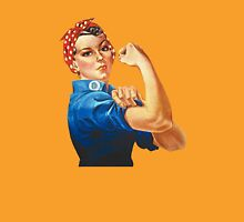 Rosie the Riveter Womens Fitted T-Shirt
