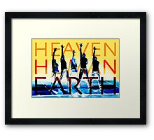 Heaven Human Earth Framed Print