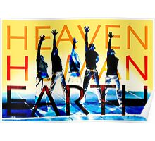 Heaven Human Earth Poster