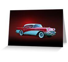1955 Buick Century Greeting Card