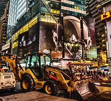New York Work Horse by Adam Northam