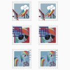 Stamp Set - Rainbow Dash (MLP:FiM) by pixel-pie-pro