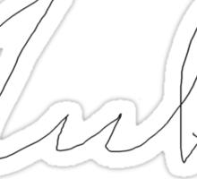 Mulan Autograph Sticker
