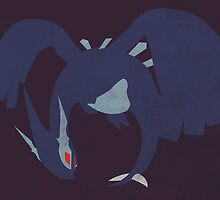 Shadow Lugia by jehuty23