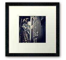 225th Street, N.Y.C Framed Print