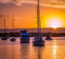 Sunset Paradise Point Gold Coast by MikeAndrew