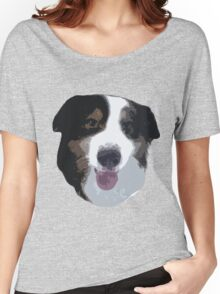 Tedy the Aussie Women's Relaxed Fit T-Shirt