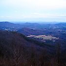 twilight  2 on high piney spur -blue ridge parkway by LoreLeft27