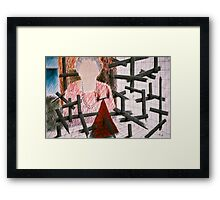Balance Of The Unknown Framed Print