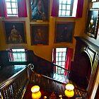 Stairway at Antony House by magicaltrails