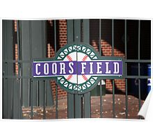 Coors Field - Colorado Rockies Poster