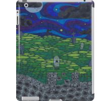 Graveyard Night iPad Case/Skin