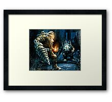 Big Daddy Showdown Framed Print