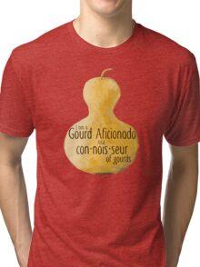 Gourd a·fi·ci·o·na·do Tri-blend T-Shirt