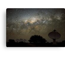 ASKAP Radiotelescope at Night Canvas Print