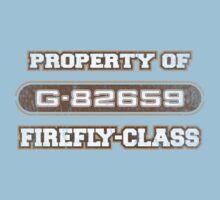 Property of Firefly-Class V1 Kids Clothes