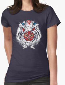 Forest Spirit Protector Womens Fitted T-Shirt