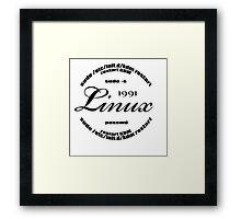 Linux Sudo  Framed Print