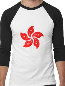 Flower of Hong Kong Men's Baseball ¾ T-Shirt