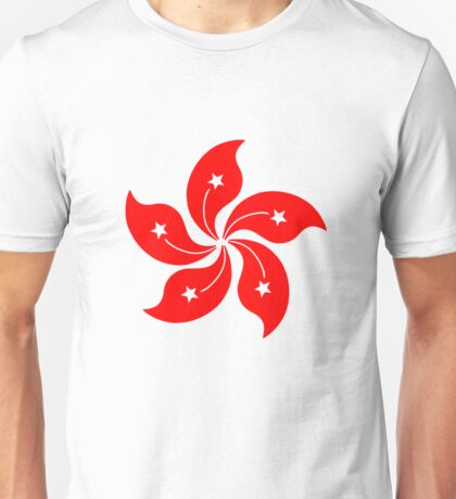 Flower of Hong Kong Unisex T-Shirt
