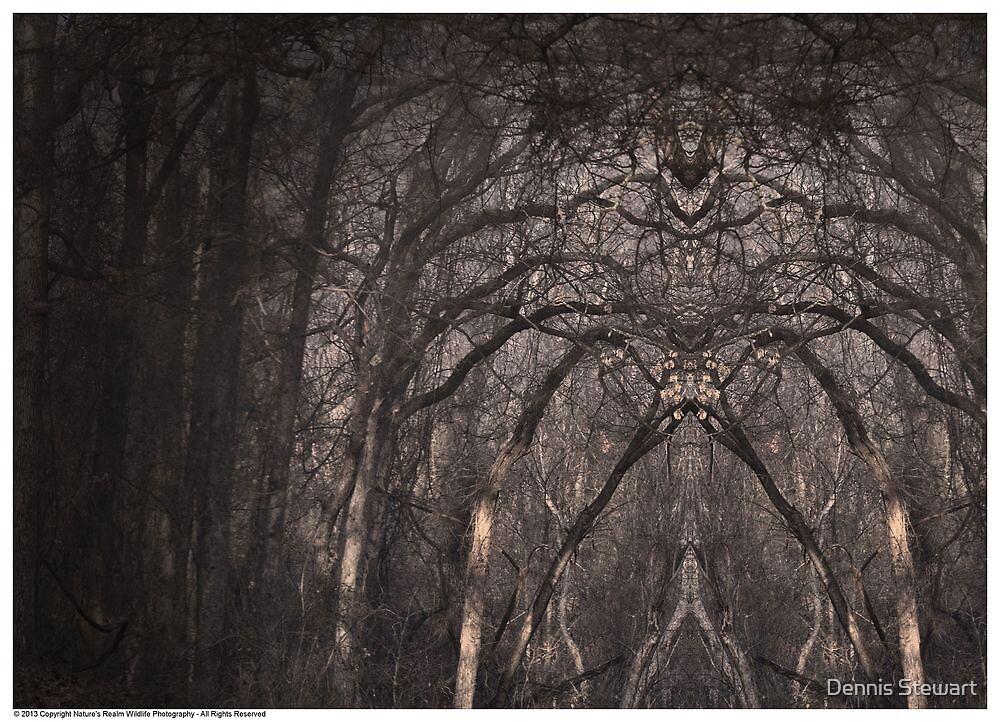 Woodland Sentinels by Dennis Stewart