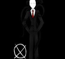 Slender Man (iPod/iPhone Case) by YungFly413
