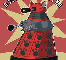 Red Dalek by NeroStreet