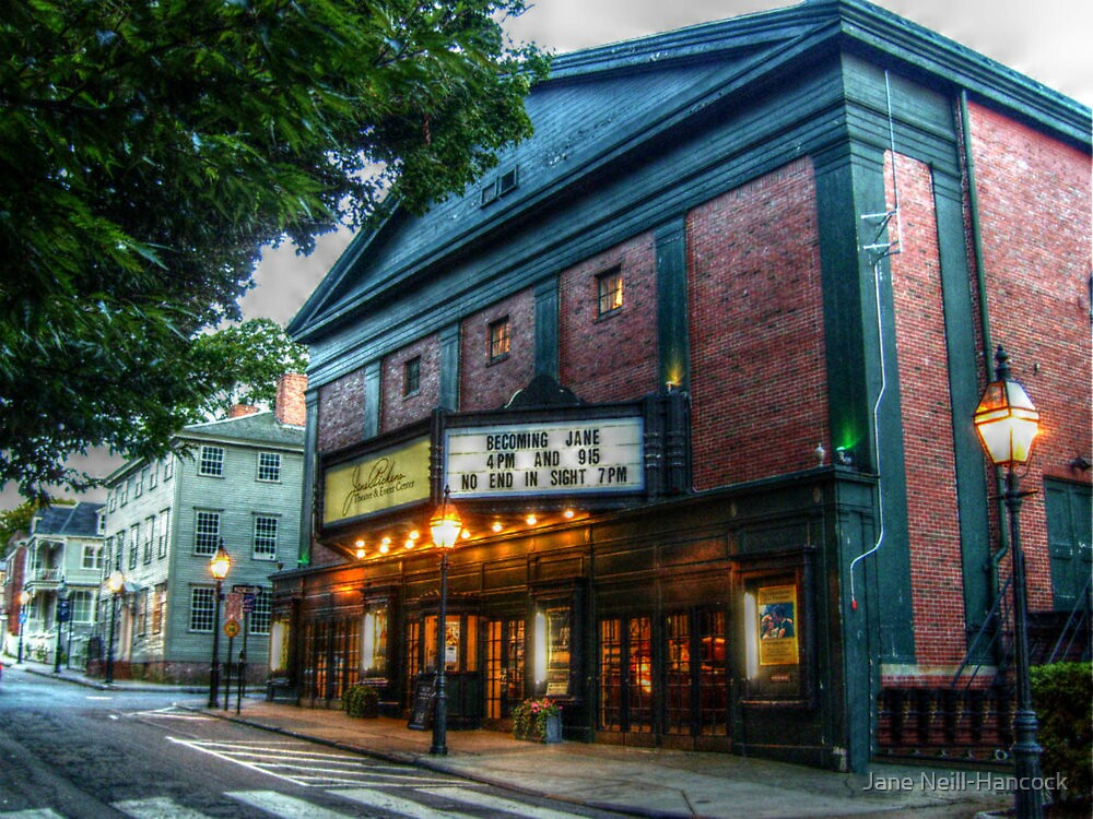Jane Pickens Theater and Event Center, Newport RI by Jane Neill-Hancock