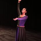 Dancer in Oratorio by CORA D. MITCHELL